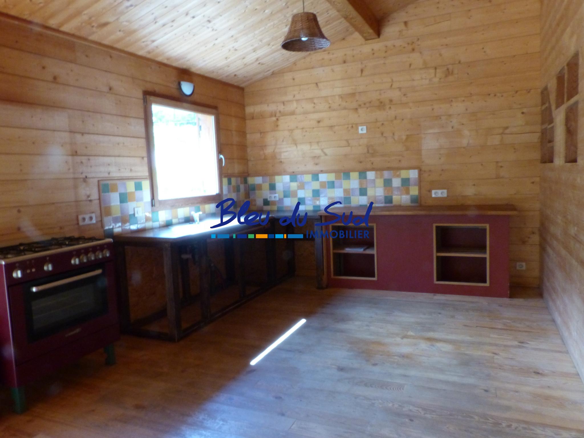 vente Maison ossature bois 4 faces, plain pied avec jardin et vue